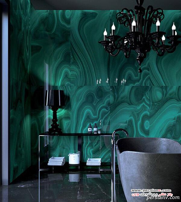 دکور خانه با رنگ سبز