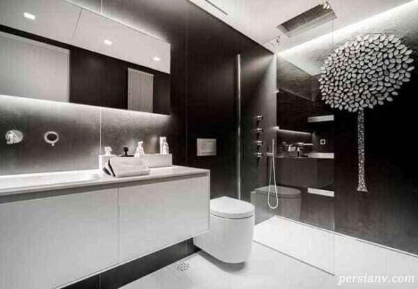 سرویس بهداشتی مدرن و زیبا