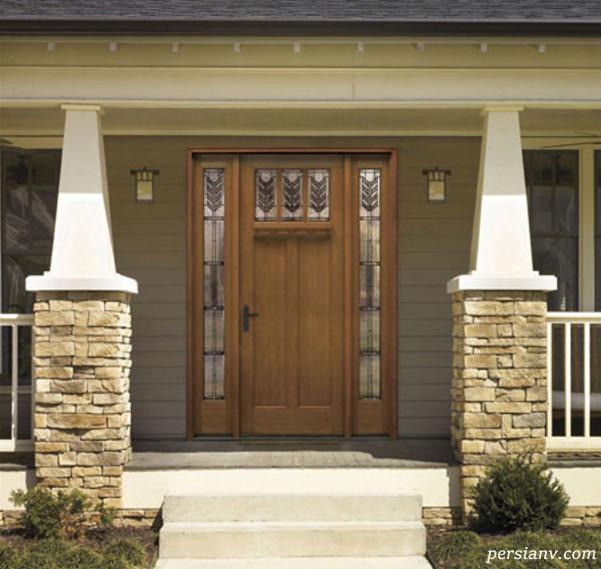 طراحی شیک ترین دربهای ورودی خانه