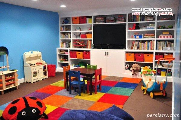 چیدمان اتاق بازی کودک