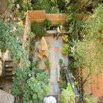 طراحی باغچه در حیاط کوچک خانه + تصاویر