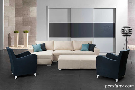 مدل کاناپه های مناسب برای اتاق های کوچک
