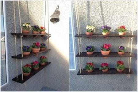 ایده های گلدان گل