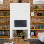دکور داخلی خانه با تلویزیون های دیواری