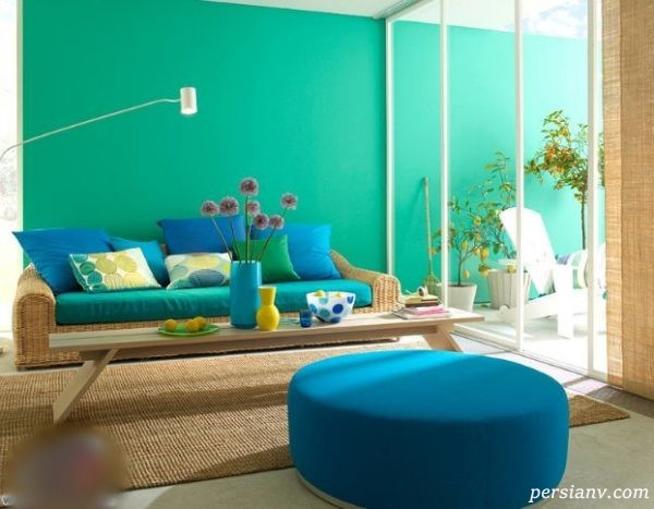 رنگ آمیزی منزل جدید