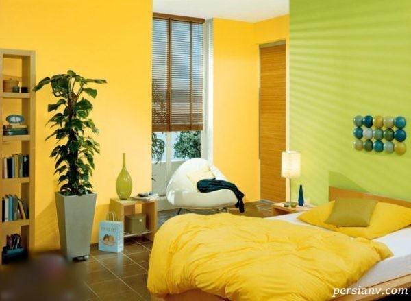 رنگ گرم برای منزل