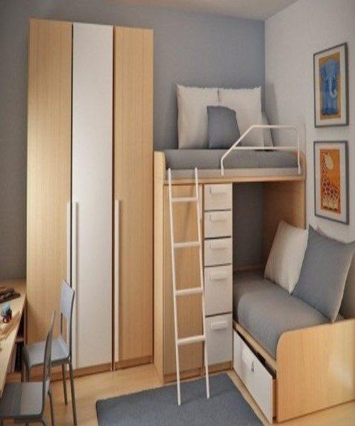 بهترین دکوراسیون اتاق خواب کوچک را با این روش ها داشته باشید