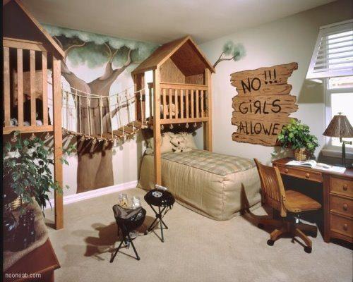 دکوراسیون فانتزی اتاق کودک
