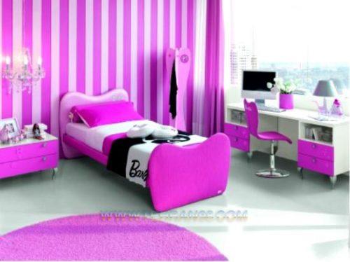 دکوراسیون دخترانه اتاق خواب