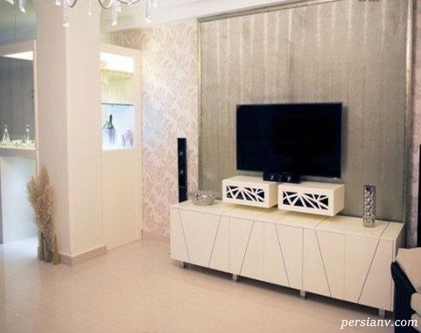 ست کاغذ دیواری با دکوراسیون منزل