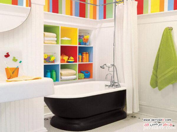 طراحی حمام کودک