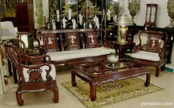 مدل مبل سلطنتی مخصوص اتاق پذیرایی