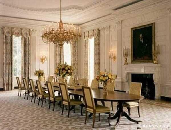 دکوراسیون داخلی کاخ سفید