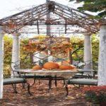 ایده های تزیین محوطه بیرونی با زیبایی های پاییز! + تصاویر