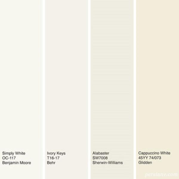 رنگ سفید استخوانی