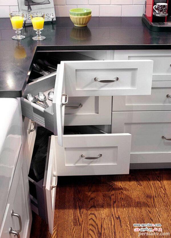 کشوهای آشپزخانه