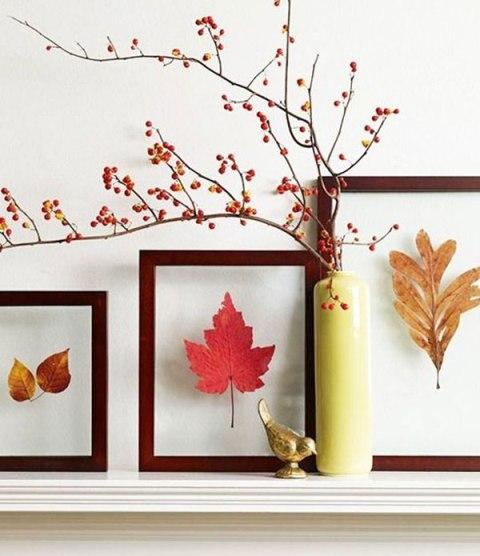 تزئین خانه در پاییز