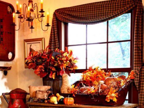 دکوراسیون خانه برای فصل پاییز