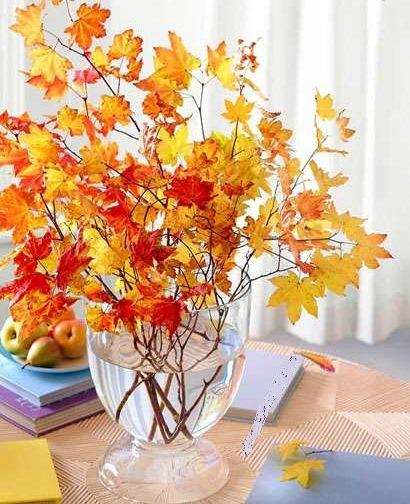 دکور پاییزی