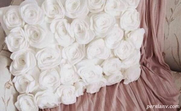 گل رز نمدی
