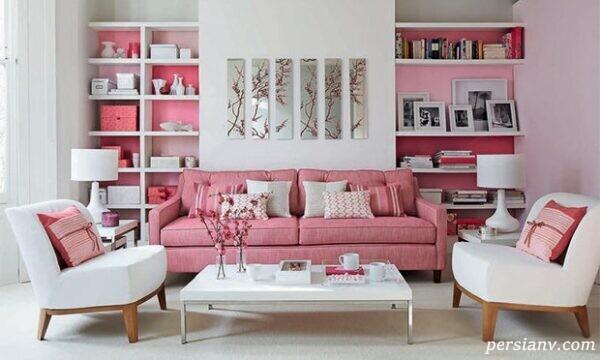 ایده هایی از کاربرد زیبای رنگ صورتی در دکوراسیون منزل