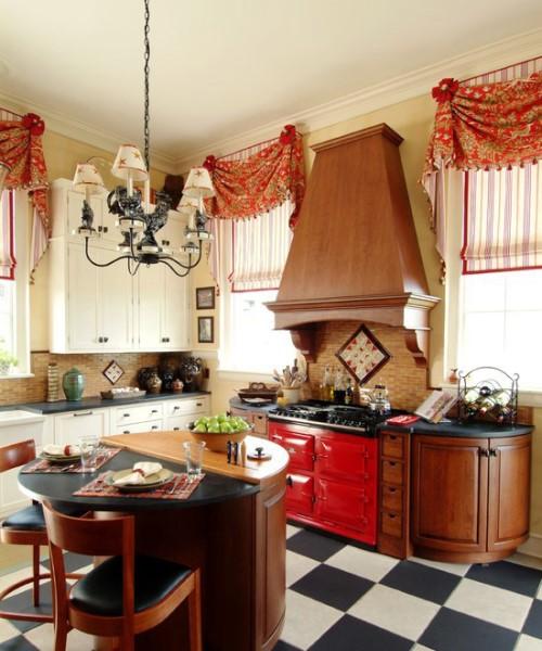 شیک ترین مدل پرده آشپزخانه مناسب دکوراسیون+تصاویر