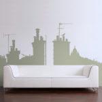 شیک ترین و مدرن ترین مدل های کاغذ دیواری پذیرایی