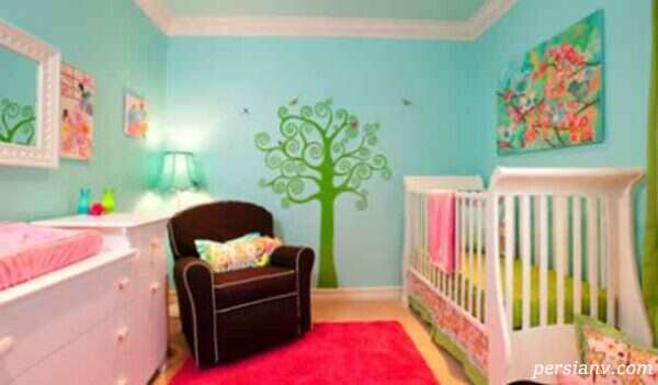 کاغذ دیواری جدید اتاق کودک