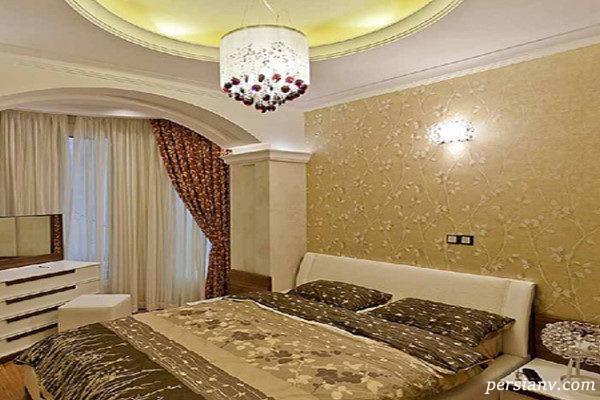 تخت خواب در دکوراسیون اتاق خواب