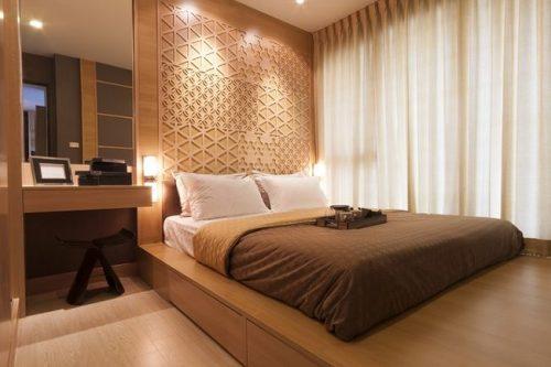 دکوراسیون اتاق خواب گرم