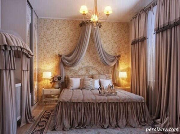 مدرن ترین دکوراسیون اتاق خواب سلطنتی بسیار زیبا