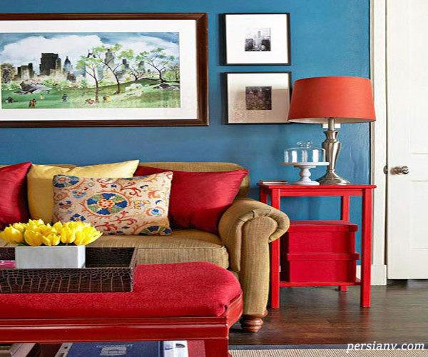 دکوراسیون داخلی آرامش بخش را با رنگ آبی بسازید+ تصاویر