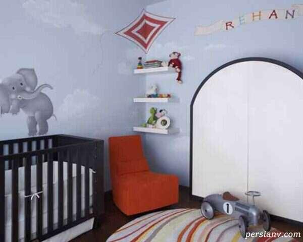 دکوراسیون اتاق کودک با عروسک