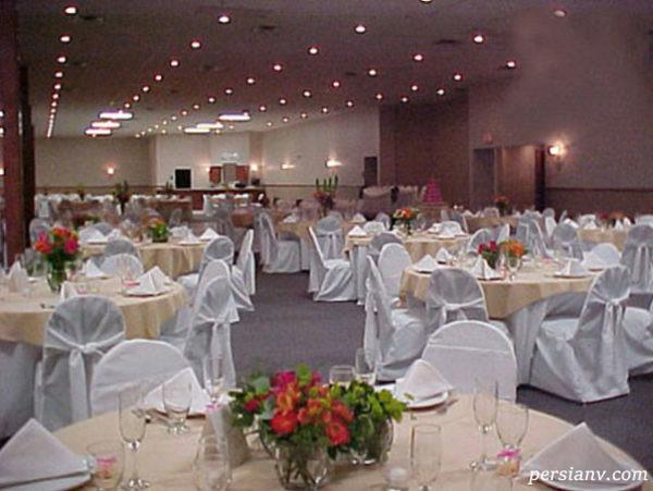 دکوراسیون تالار عروسی