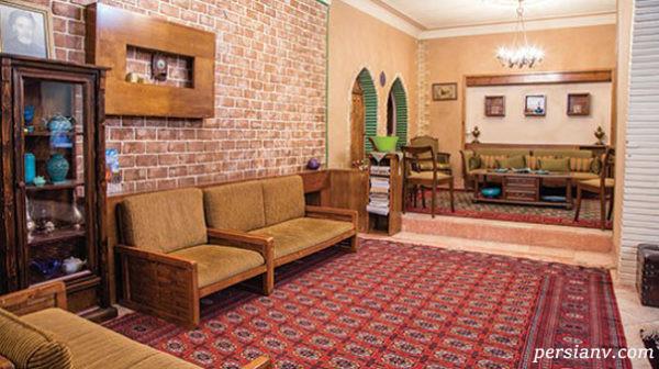 دکوراسیون سنتی خانه اقبال واحدی