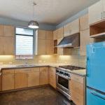 آشپزخانه ای شیک با جدیدترین مدل کابینت ساده