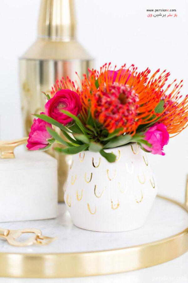 گلدان های شاد و شیک مدرن