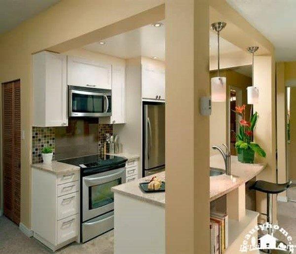 آشپزخانه های کوچک مدرن