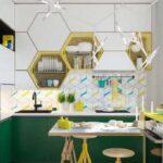 دکوراسیون آشپزخانه جدید و بسیار شیک برای خانه مدرن