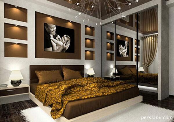 دکوراسیون اتاق خواب سبک مدرن