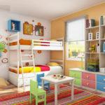 دکوراسیون دوست داشتنی رنگین کمانی در منزل