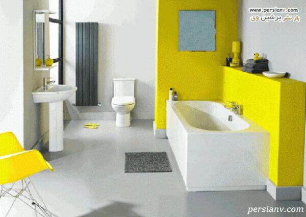 رنگ زرد دکوراسیون