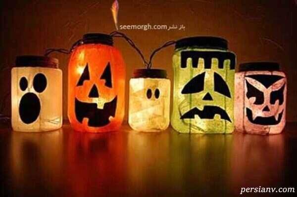 شمع هایی به شکل روح درست کنید!!