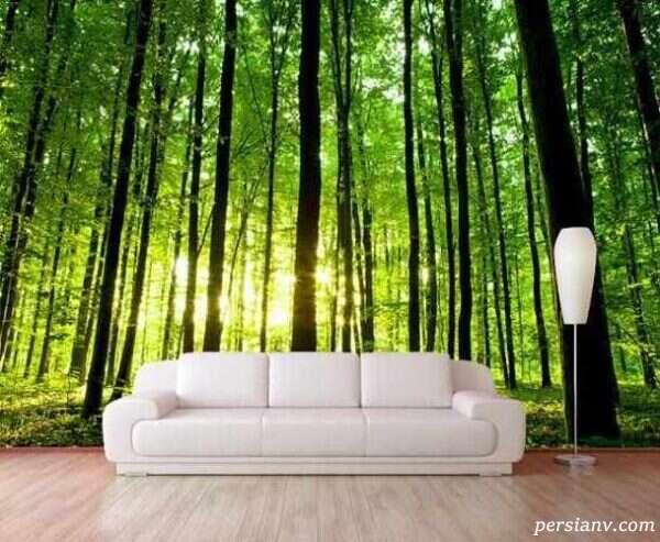 انتخاب کاغذ دیواری مناسب برای خانه