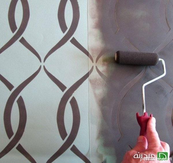تزیین دیوارهای اتاق