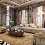 دکوراسیون داخلی لوکس یک خانه به سبک معماری نئوکلاسیک قرن ۱۸ + تصاویر