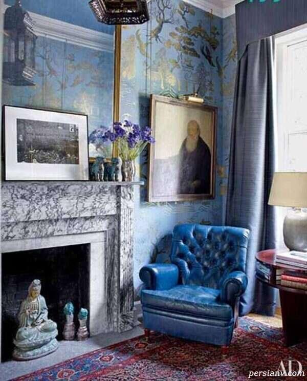 رنگ آمیزی دیوارهای خانه