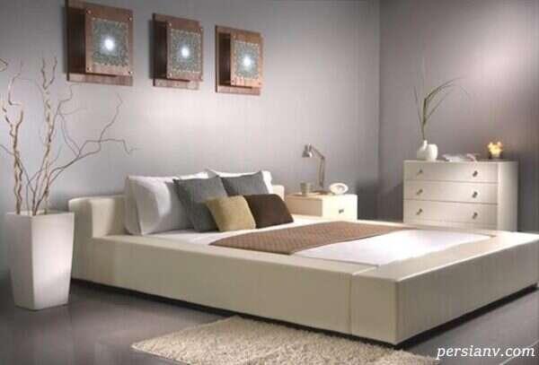 رنگ مناسب اتاق خواب بزرگسال