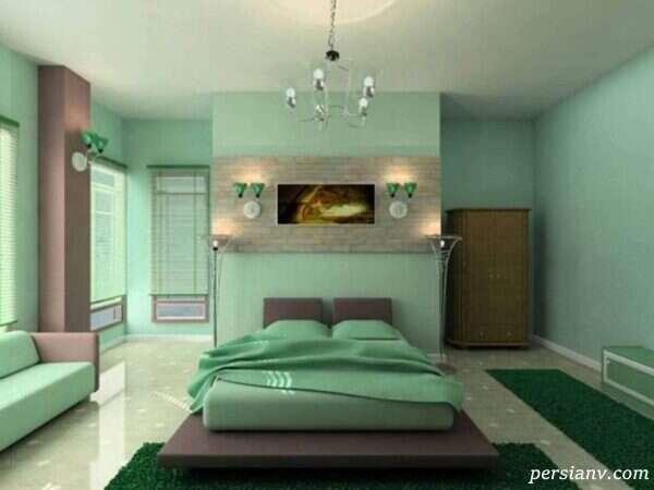 چه رنگی مناسب اتاق خواب است