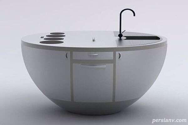 کوچک ترین آشپزخانه جهان اینگونه طراحی شده است